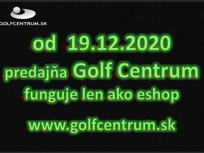 Obrázok ku článku 19.12.2020.-24.1.2021 je tu pre vás eshop www.golfcentrum.sk a výdajné miesto.