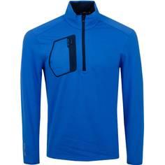 Obrázok ku produktu Pánska mikina RLX Half Zip M1 Long Sleeve KNIT COLBY BLUE