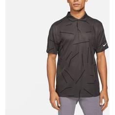 Obrázok ku produktu Pánska polokošeľa Nike Golf Dri-Fit Tiger Woods Corse Jacquard Polo šedá
