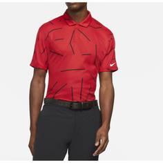 Obrázok ku produktu Pánska polokošeľa Nike Golf Dri-Fit Tiger Woods Corse Jacquard Polo červená
