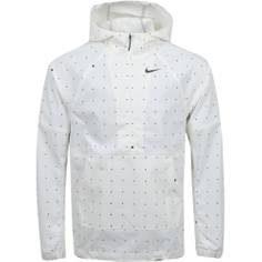 Obrázok ku produktu Pánska bunda Nike Golf Repel Hooded Dot Print Anorak krémová