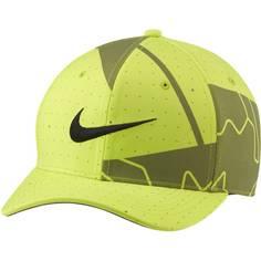 Obrázok ku produktu Unisex šiltovka Nike Golf AeroBill Classic 99 Print neónovozelená/šedá potlač/čierne logo