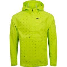 Obrázok ku produktu Pánska bunda Nike Golf Repel Hooded Dot Print Anorak limetková