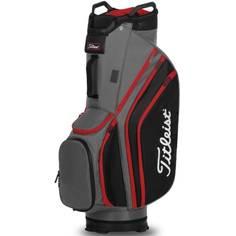 Obrázok ku produktu Golfový bag Titleist Cart14 Lightweight  Charcoal/Black/Red - na vozík, 14- rozdeľovač na palice