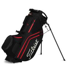 Obrázok ku produktu Golfový stand bag Titleist Hybrid 14,  Black/Black/Red, so stojanom, 14-komorový  rozdeľovač na palice