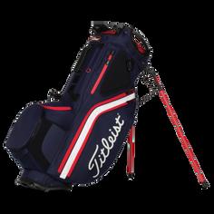 Obrázok ku produktu Golfový stand bag Titleist Hybrid 14,  Navy/White/Red, so stojanom, 14-komorový  rozdeľovač na palice