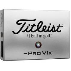 Obrázok ku produktu Golfové loptičky Titleist Pro V1x Left Dash 21, 3-balenie, nízko spinová loptička s tvrdším pocitom