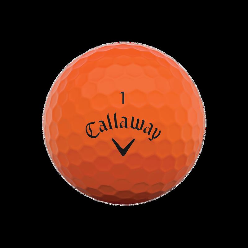 Obrázok ku produktu Golfové loptičky  Callaway Supersoft Matte Orange, 3-balenie, matné oranžové