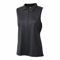 Obrázok ku produktu Dámska polokošeľa Backtee Ladies Printed QD UV Polo Top čierna