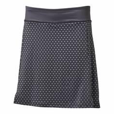 Obrázok ku produktu Dámska sukňa Backtee Ladies Printed QD UV Skort čierna