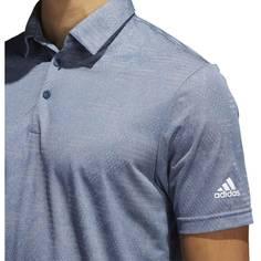 Obrázok ku produktu Pánska polokošeľa adidas golf Camo Polo modro-šedá