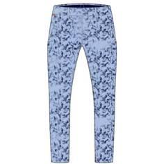 Obrázok ku produktu Dámske nohavice Kjus W Ice Light 7/8 Treg Print Atl Blue-Cl Blue