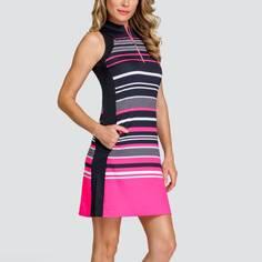 Obrázok ku produktu Dámske šaty TAIL GOLF ANIYAH čierno- ružové