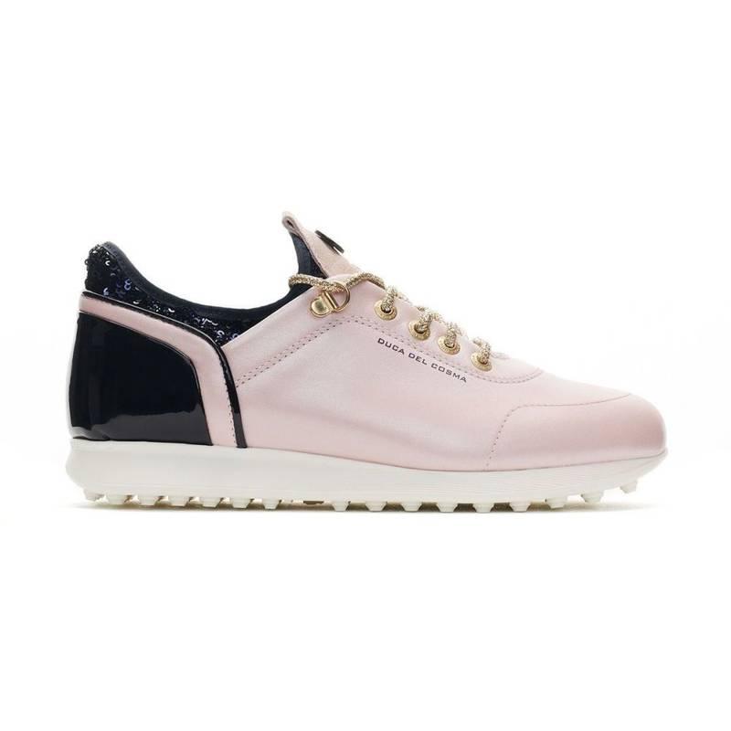 Obrázok ku produktu Dámske golfové topánky DucaDelCosma Pose Pink/Navy