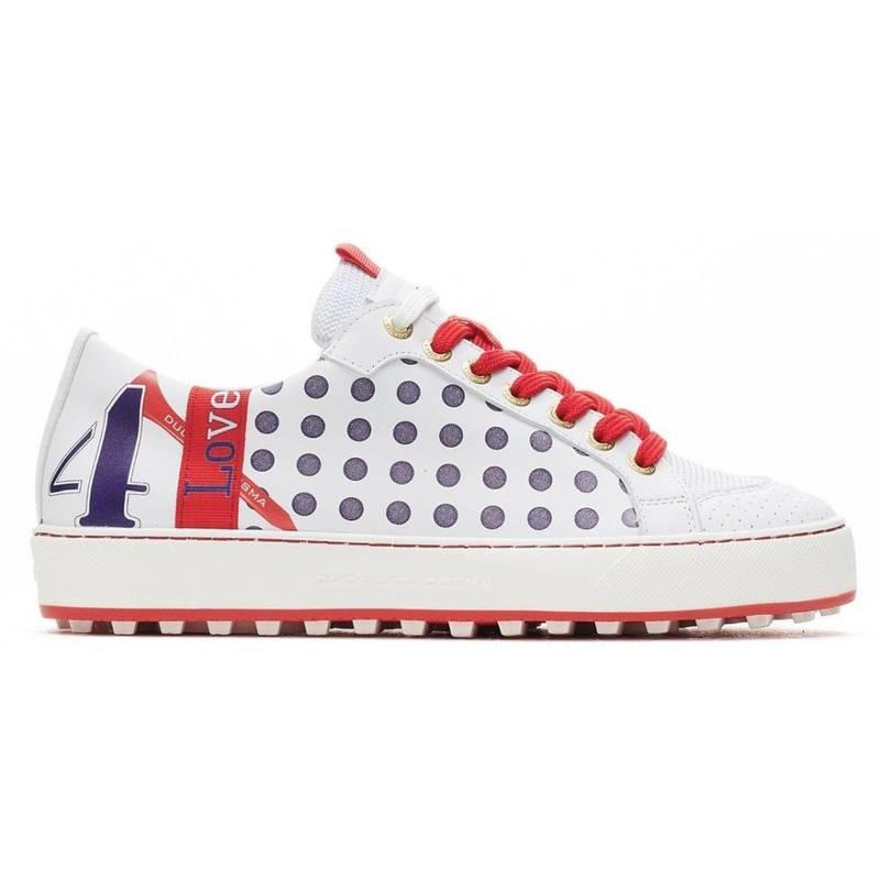 Obrázok ku produktu Dámske golfové topánky DucaDelCosma Esti White/Red