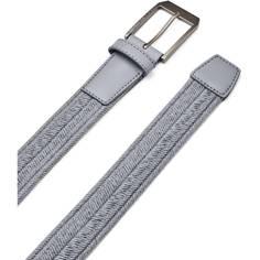 Obrázok ku produktu Pánsky opasok Under Armour Braided Golf Belt šedý