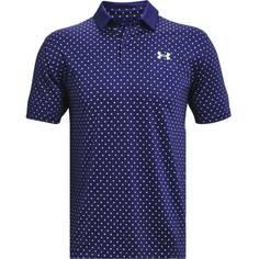 Obrázok ku produktu Pánska polokošeľa Under Armour golf Performance Printed Polo modré