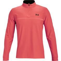 Obrázok ku produktu Pánske tričko Under Armour golf Playoff 2.0 1/4 Zip červené