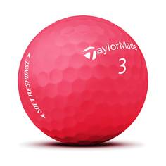Obrázok ku produktu Golfové loptičky Taylor Made Soft Response - červené, 3-balenie