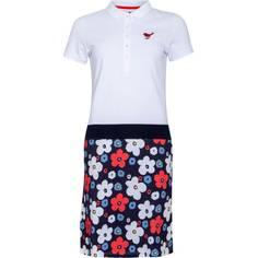 Obrázok ku produktu Dámske šaty Girls Golf White Flower Dressed