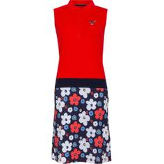 Obrázok ku produktu Dámske šaty Girls Golf Red Flower Dressed