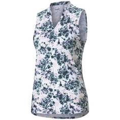 Obrázok ku produktu Dámska polokošeľa Puma Golf Cloudspun Floral Tie Dye S/L Polo ružová