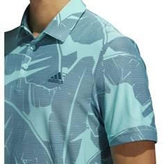 Obrázok ku produktu Pánska polokošeľa adidas golf Vibes Print Polo modrá