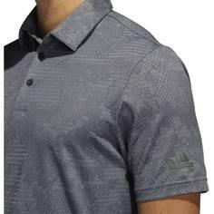 Obrázok ku produktu Pánska polokošeľa adidas golf Camo Polo šedá