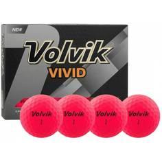 Obrázok ku produktu Golfové loptičky Volvik Vivid - ružové, 3-balenie