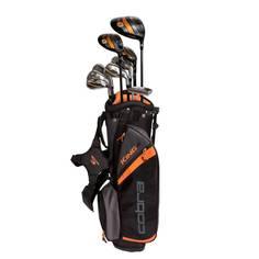 Obrázok ku produktu Detské golfové palice - kompletná sada Cobra King Junior 13-15  Rokov (149cm-163cm) - 10 ks