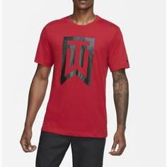 Obrázok ku produktu Pánske tričko Nike Golf Tiger Woods Logo červené