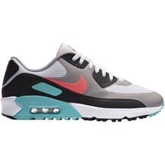 Obrázok ku produktu Unisex golfové topánky Nike Golf Air Max 90 G šedé s farebnými a