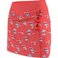 Obrázok ku produktu Dámska sukňa Callaway Golf  UMBRELLA FAUX WR oranžová s potlačou