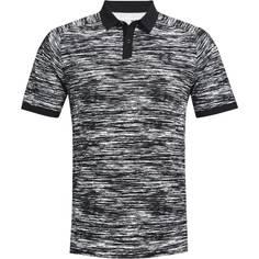 Obrázok ku produktu Pánska polokošeľa Under Armour golf Iso-Chill ABE Twist Polo čierno-biele