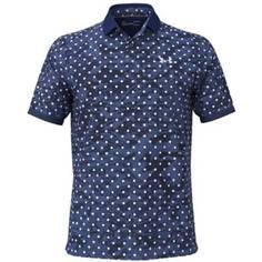 Obrázok ku produktu Pánska polokošeľa Under Armour golf Iso-Chill Penta Dot Polo modrá