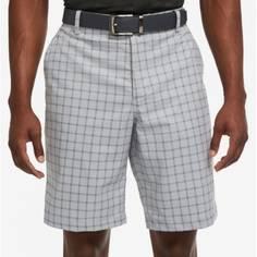 Obrázok ku produktu Pánske šortky Nike Golf DF ESSENTIAL PLAID šedé kárované