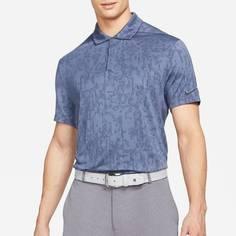 Obrázok ku produktu Pánska golfová polokošeľa Nike Golf Dri-FIT Tiger Woods Polo modrá