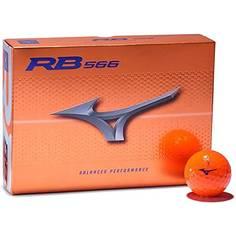 Obrázok ku produktu Golfové loptičky Mizuno RB 566 Orange 21, oranžové, 3 kusove balenie