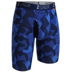 Obrázok ku produktu Boxerky 2UNDR Swing Shift Long Leg Brief Blue Camo