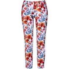 Obrázok ku produktu Dámske nohavice Alberto Golf MONA Summer Flowers kvetinové