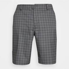 Obrázok ku produktu Pánske šortky Nike Golf DF ESSENTIAL PLAID tmavošedé kárované
