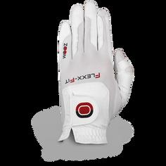 Obrázok ku produktu Dámska golfová rukavica Zoom Weather Style - univerz. veľkosť biela na pravú ruku pre ľavákov