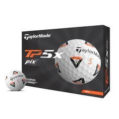 Obrázok ku produktu Golfové loptičky Taylor Made TP5 x pix 21 - biele, 3 kusové-balenie