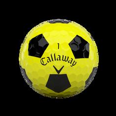 Obrázok ku produktu Golfové loptičky Callaway Chrome Soft Truvis 20 žlté, 3-balenie