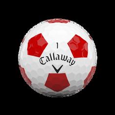 Obrázok ku produktu Golfové loptičky Callaway Chrome Soft Truvis 20 bielo/červené, 3-bal.