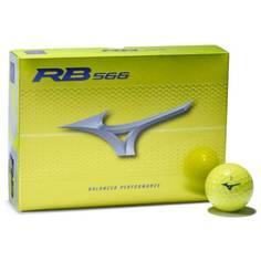 Obrázok ku produktu Golfové loptičky Mizuno RB 566 Yellow 21, žlté, 3 kusove balenie
