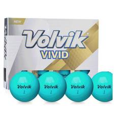 Obrázok ku produktu Loptičky Volvik Vivid - tmavo zelená, 3 - balenie
