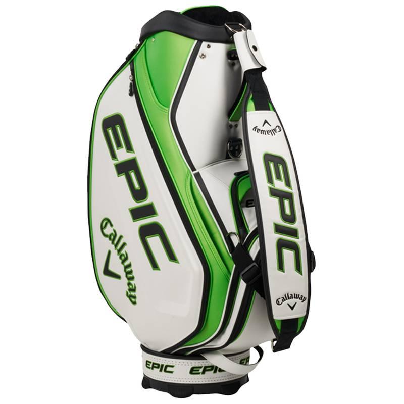 Obrázok ku produktu Golfový bag Callaway  Epic 21 Staff bag, White/Green/Black