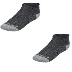 Obrázok ku produktu Ponožky ZOOM Ankle Low Cut Charcoal/Silver, 3-balenie