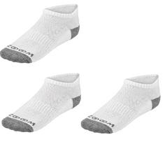 Obrázok ku produktu Dámske ponožky ZOOM Ankle Low Cut Charcoal/Silver, 3-balenie